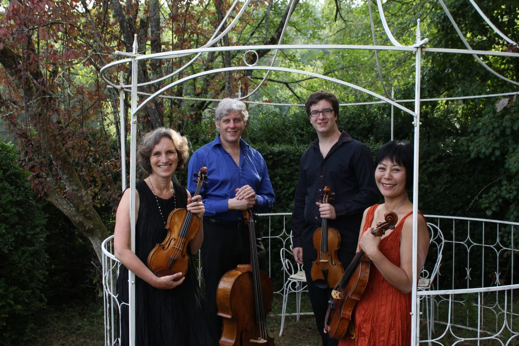 Dante Quartet - Gazebo Portrait